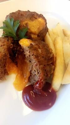 Bacon-Cheeseburger Mini Meatloaves