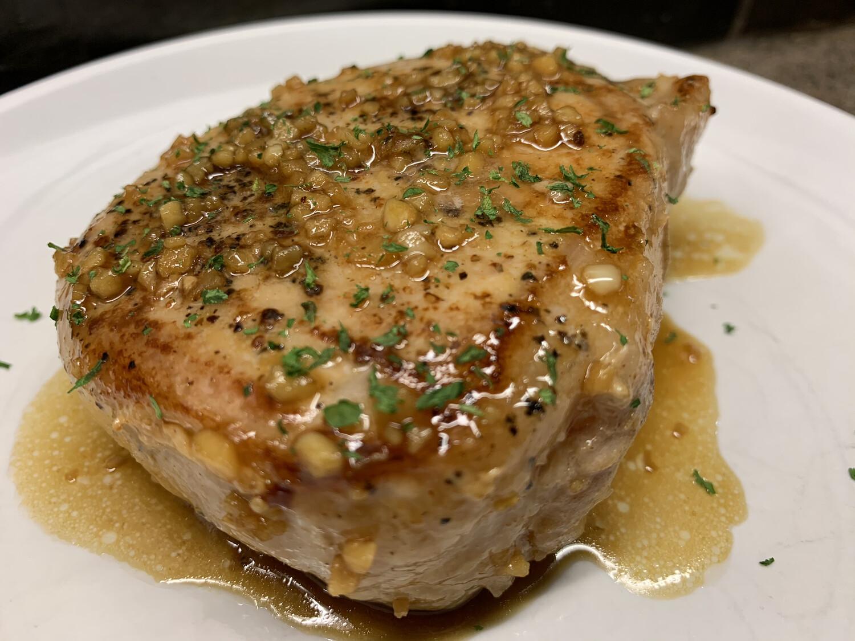 Honey Garlic Pork Chops - GF