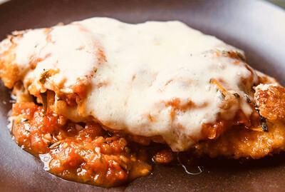 Gluten-Free Chicken Parmesan w/ Spaghetti