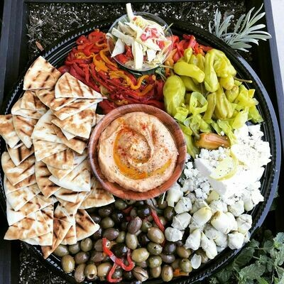 A Virtual Mediterranean Happy Hour Box
