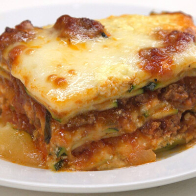 Gluten-Free Classic Lasagna with Italian Sausage