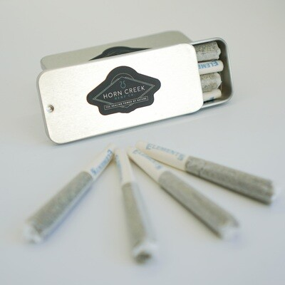 Hemp Flower Pre-rolls- 4 Pack (1/2 Gram Each)