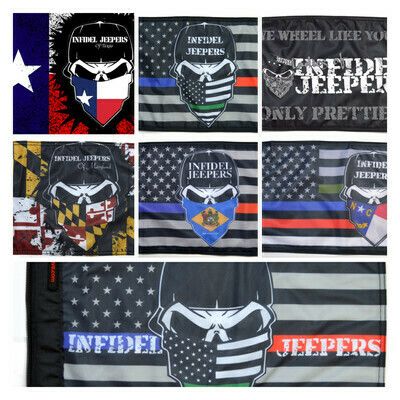 Infidel Jeepers Foreverwave Flags 3x5' Foot