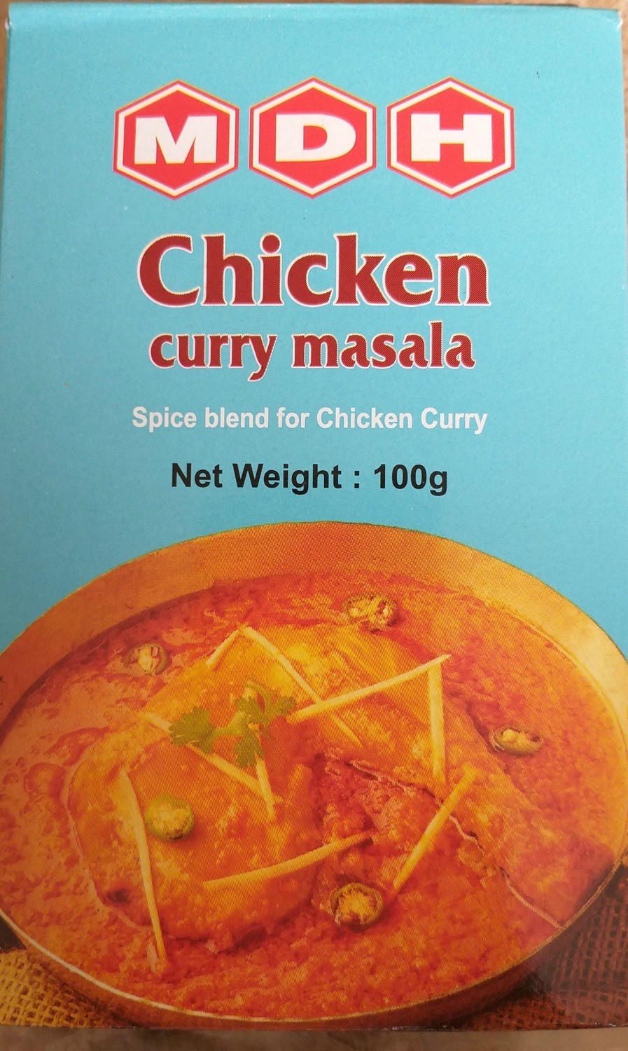 MDH CHICKEN CURRY MASALA 100GMS
