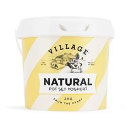VILLAGE NATURAL YOGHURT  2KG
