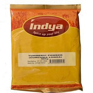 INDYA TURMERIC POWDER 500GM