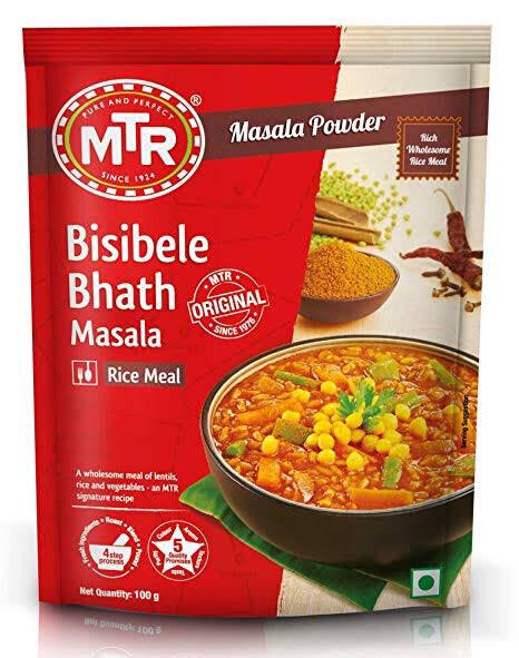 MTR BISBELLEBATH MASALA  100G
