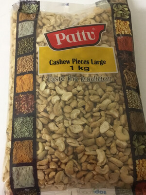 PATTU CASHEW  PIECES LARGE 1KG