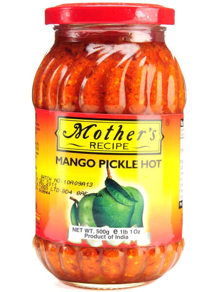 MOTHER'S MANGO PICKLE( HOT) 500GMS
