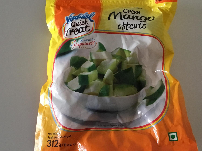VADILAL GREEN MANGO OFFCUTS 312 GMS