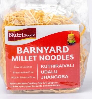 NUTI FOODZ BARNYARD MILLET NOODLES (Includes Taste Maker) 180 GMS