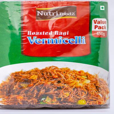 NUTRI FOODZ ROASTED RAGI VERMICELLI 450 GMS