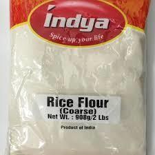 INDYA RICE FLOUR COARSE (RICR RAVVA) 908GMS
