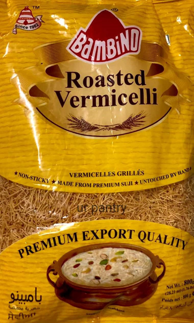BAMBINO ROASTED VERMICELLI  900 GMS