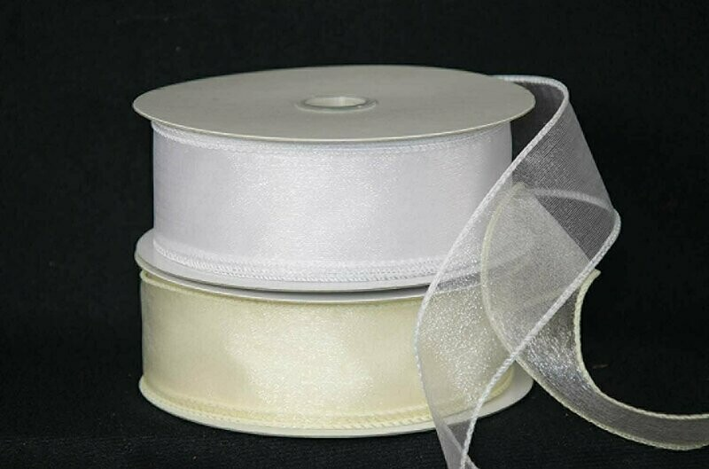 ISS09 - #9 Wired Organza (50 Yards)