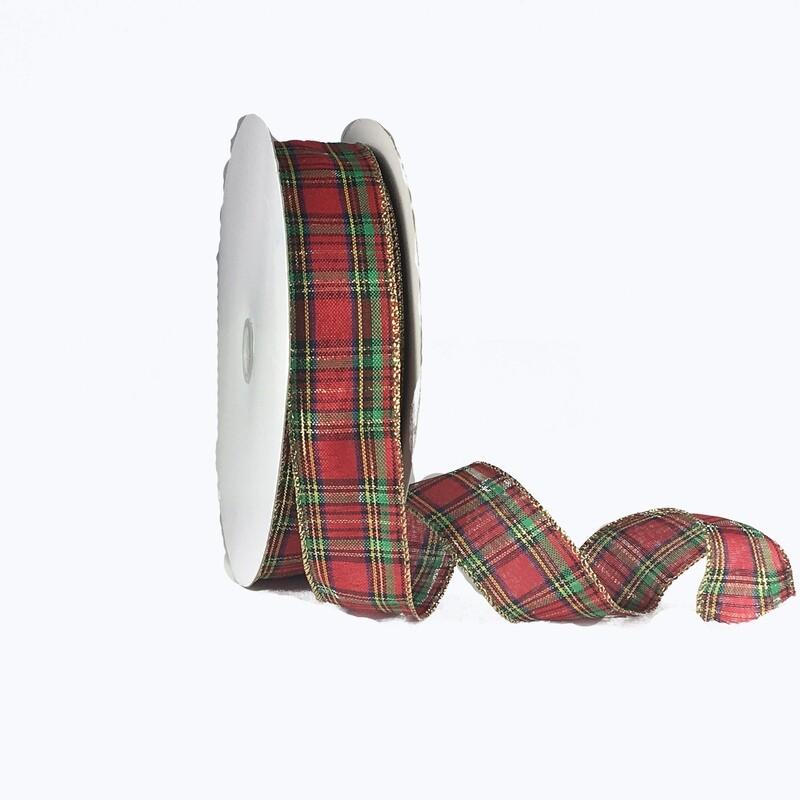 ITP009 - Traditional Plaid #9 holiday ribbon