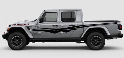 Jeep Gladiator JT Extra Large Side Checkmark 1 Style Vinyl Graphics