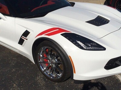 Chevy Corvette C7 Hashmark Graphics
