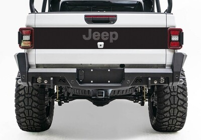 2020 - Up Jeep Gladiator JT Tailgate Blackout Vinyl Graphics