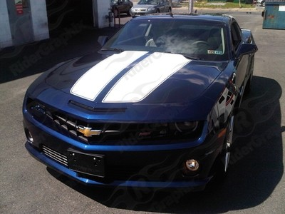 2010 - 2015 Camaro Dual Rally Stripes