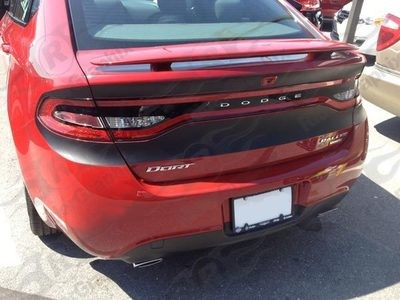 2013 - 2016 Dodge Dart Rear Blackout Stripe Kit