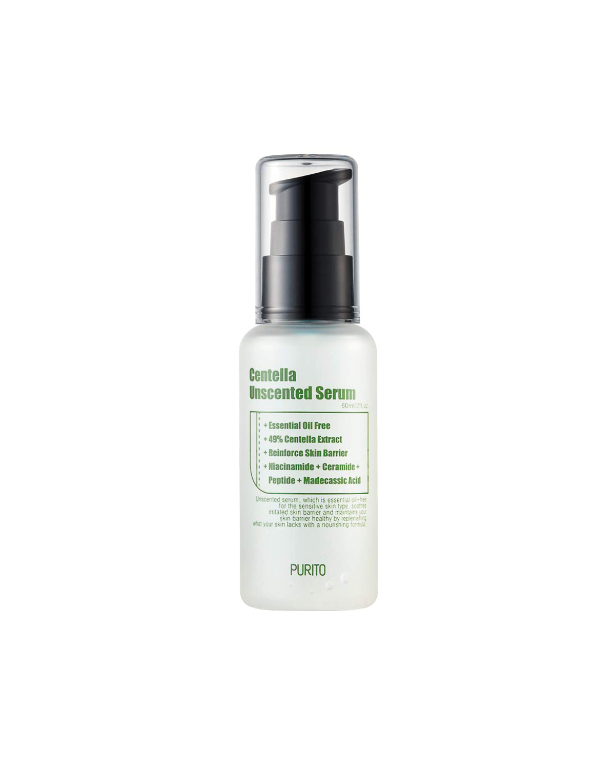 PURITO Centella Unscented Serum 60 ml