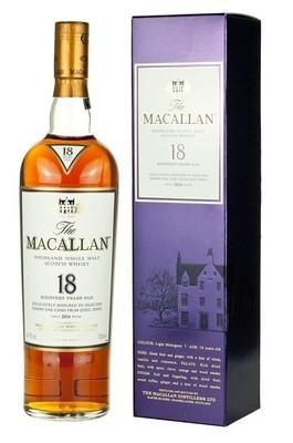 Macallan '18 Years Old' Single Malt Whisky