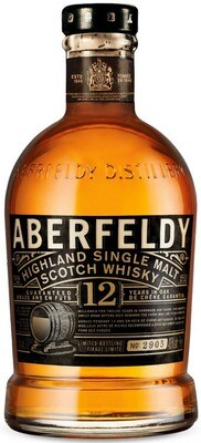 Aberfeldy '12 Years Old' Single Malt Scotch Whisky