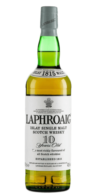 Laphroaig '10 Years Old' Single Malt Scotch Whisky
