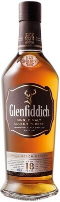 Glenfiddich '18 Years Old' Single Malt Scotch Whisky