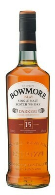 Bowmore '15 years old - Darkest' Single Malt Scotch Whisky