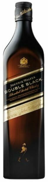 Johnnie Walker 'Double Black' Blended Scotch Whisky (Gift Box with Glass & a miniature Black Label)