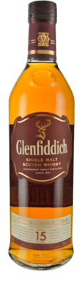 Glenfiddich '15 Years Old' Single Malt Scotch Whisky