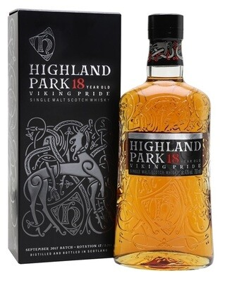 Highland Park '18 Years Old' Single Malt Scotch Whisky