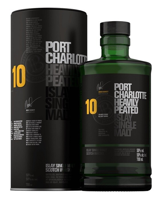 Port Charlotte '10 Years Old' Islay Single Malt Whisky