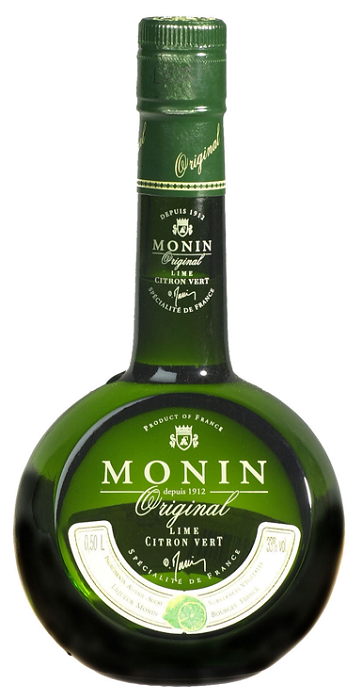 Monin 'Original' Lime Liqueur (500ml - Stock Clearance)