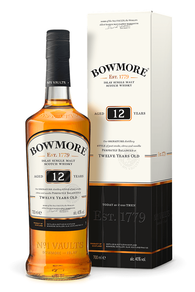 Bowmore '12 years Old' Single Malt Scotch Whisky