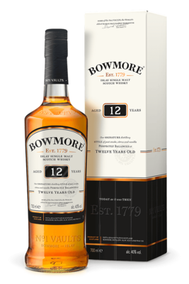 Bowmore '12 years Old' Single Malt Scotch Whisky