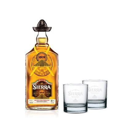 (Free 2 Rock Glasses) Sierra 'Spiced' Tequila Liqueur