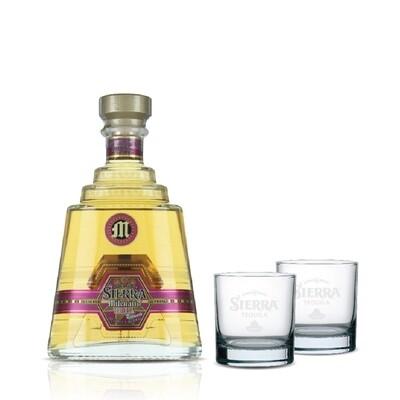 (Free 2 Rock Glasses) Sierra Milenario 'Reposado' Tequila