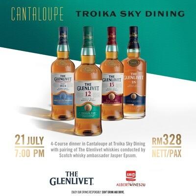 The Glenlivet Whisky Dinner @ Cantaloupe - July 21st 2020