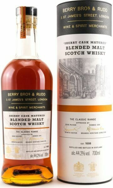 Berry Bros. & Rudd 'Classic Sherry Cask' Blended Malt Scotch Whisky