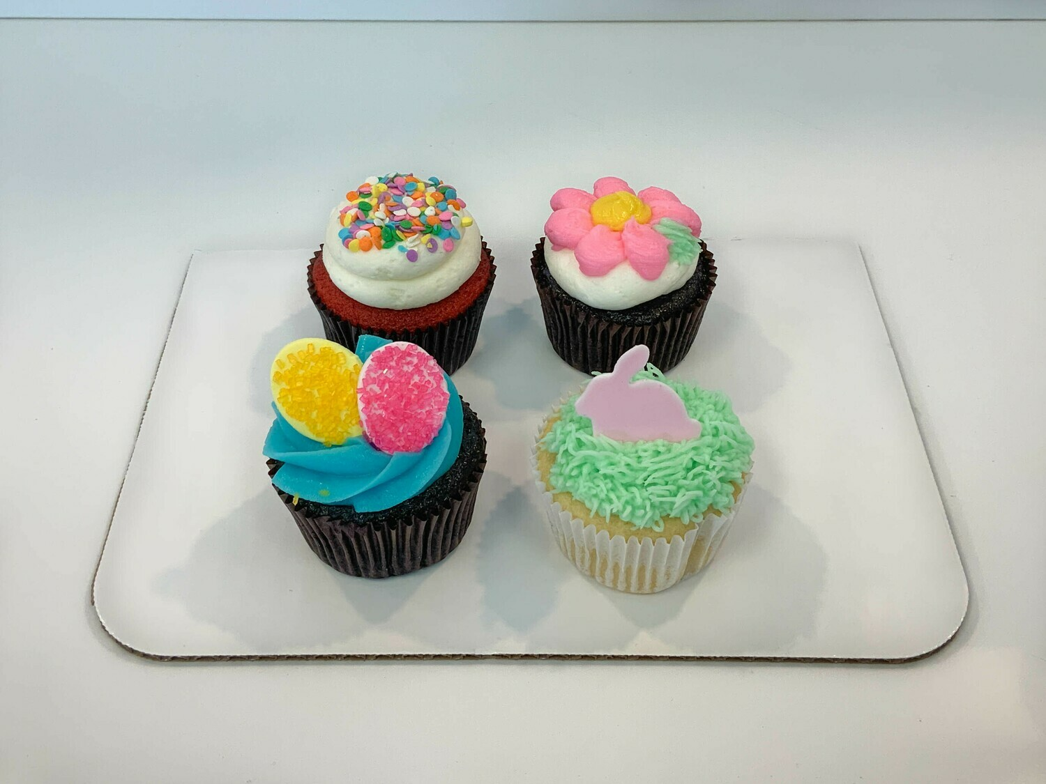 Easter 4 Pack of Cupcakes