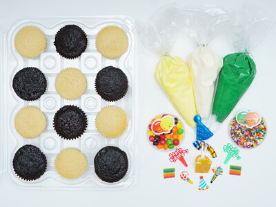 Birthday DIY Cupcake Decorating Kit