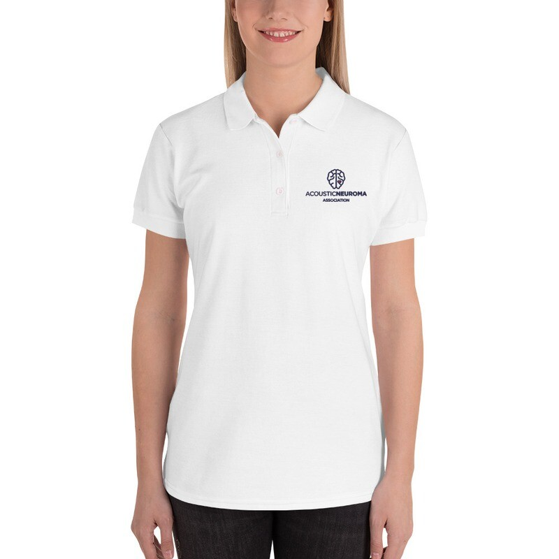 Women's Embroidered Polo Shirt
