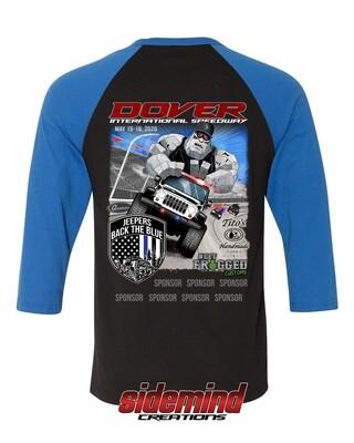 2020 Event Raglan Shirt | Blue/Black