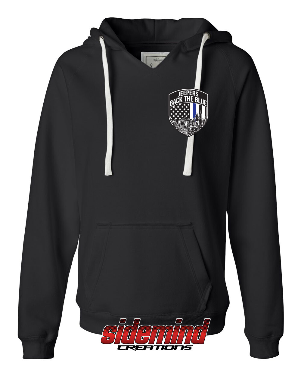 2020 Event Womens Pullover Hoodie | Black