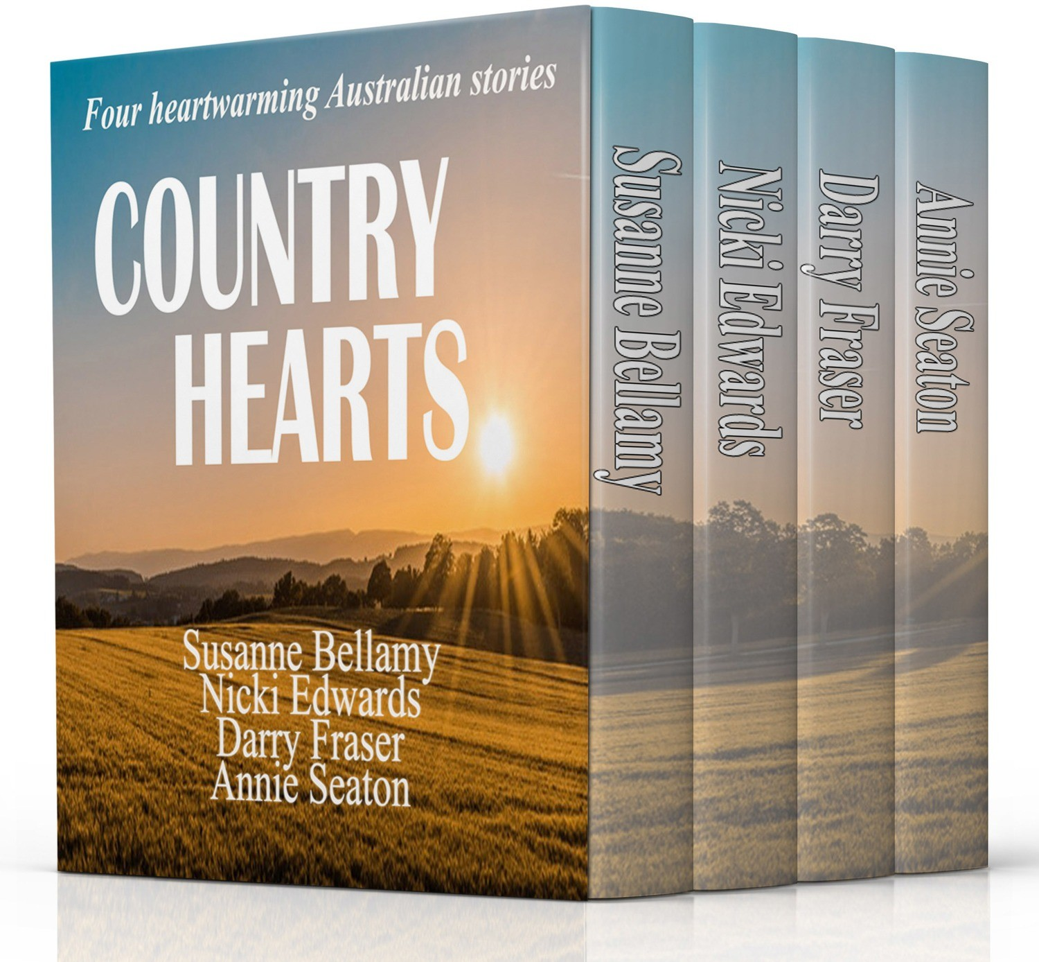 Country Hearts-Print