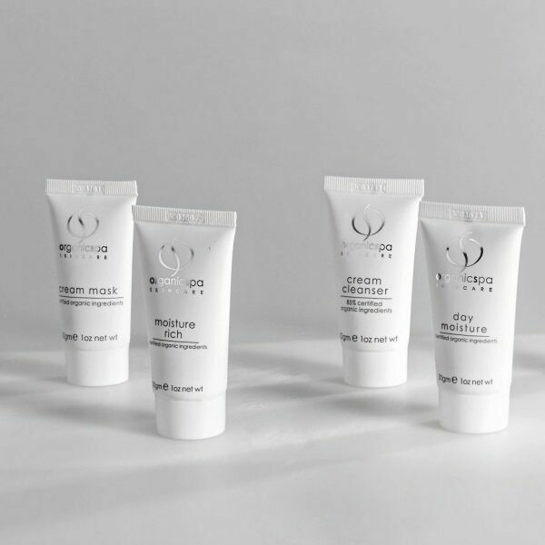 Vital Minis – Cream Cleanser, Gel Mask, Face Exfoliant, Day Moisture 4 x 30gm Tubes
