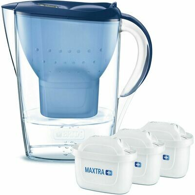 Bình lọc nước BRITA MARELLA 2.4L kèm 3 lõi lọc